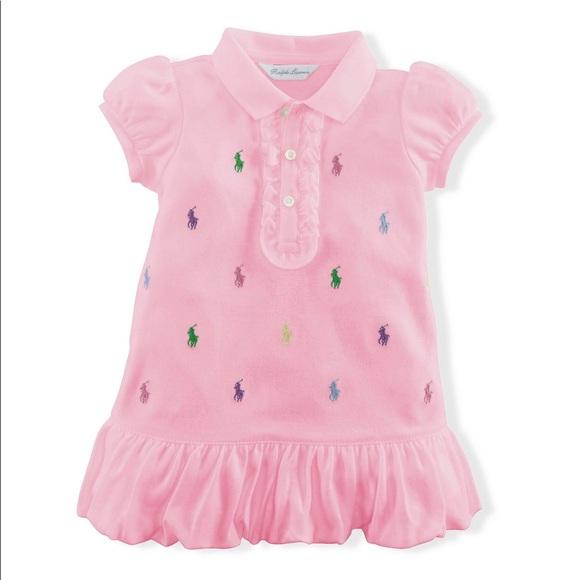 297adadcde Great 4 Spring: Ralph Lauren Baby Girl Pink Dress NWT